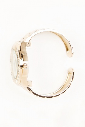 Bracelet Encrusted Watch