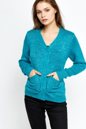 Shimmer Knitted Cardigan