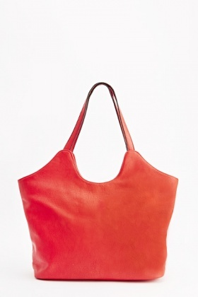 Faux Leather Hobo Bag
