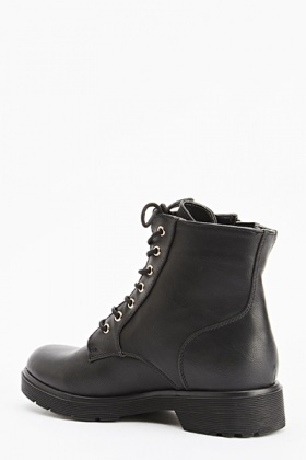 Lace Up Ankle Boots - Just £5