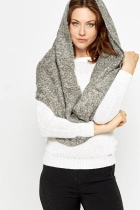 Speckled Knit Snood