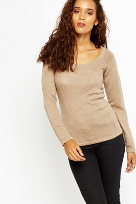 Scoop Neck Pullover