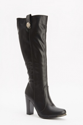 Knee High Heeled Boots
