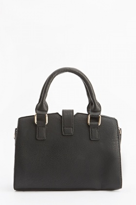Twist Lock Black Box Bag