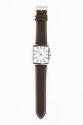 Square Face Mens Watch