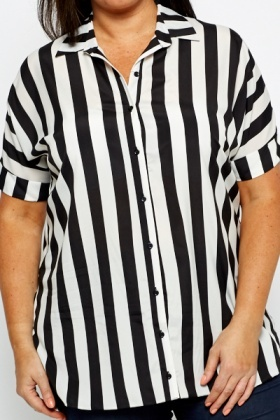 Striped Mono Shirt