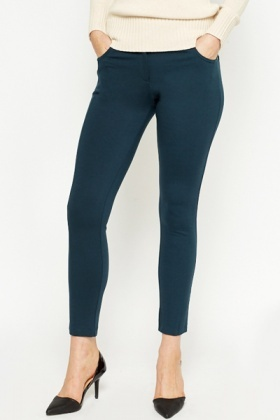 Forest Green Jeggings