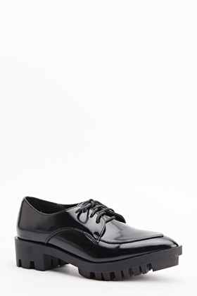 Track Sole Brogues