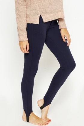 Slim Fit Stirrup Trousers