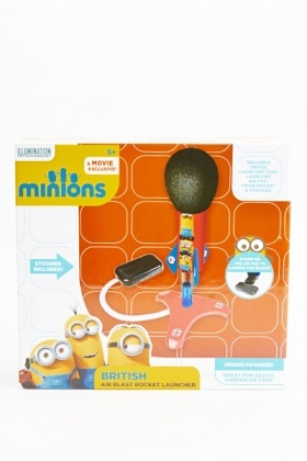 Minions British Air Blast Rocket Launcher