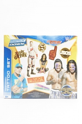 WWE Smack Down Temporary Tattoo Set