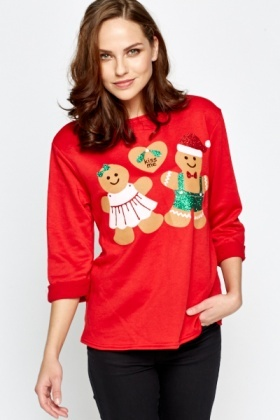 Gingerbread Christmas Top