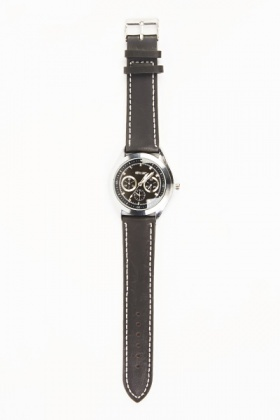 Mens Chronograph Circle Strap Watch
