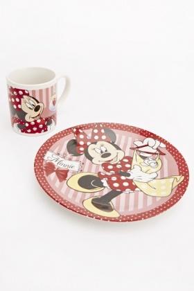 Minnie Mouse Breakfast Set & Minnie Mouse Breakfast Set - Just £5