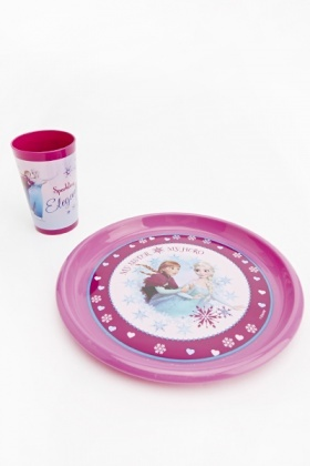 Disney Frozen Three Piece Breakfast Set
