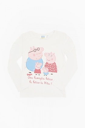 Peppa Pig Family Long Sleeve Top