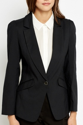 Charcoal Fitted Blazer