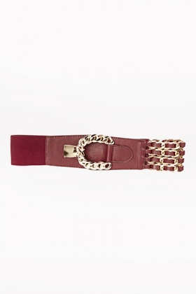 Chain Detail Belt