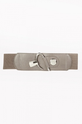 Metal Clip Elastic Belt