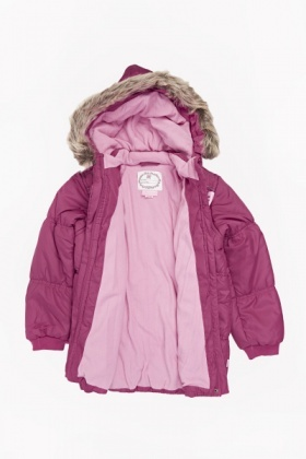 Pink Padded Coat