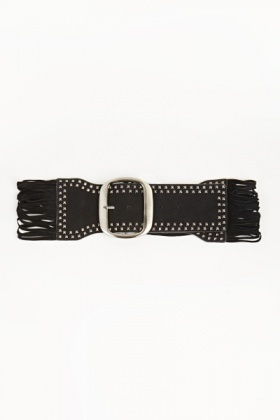 Strappy Studded Front Belt