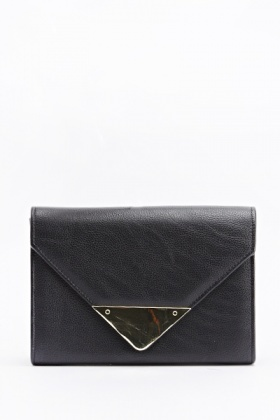 Two Tone Envelope Clutch