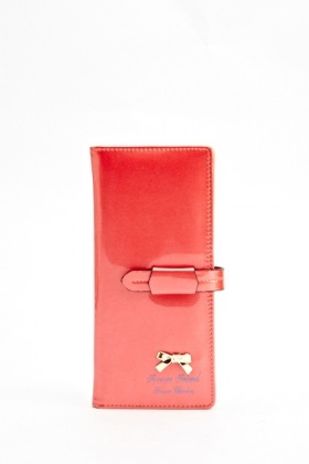 Bow Front Wallet