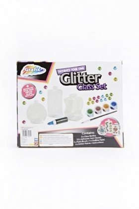 Decorate Your Own Glitter Glass Set
