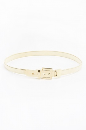 Gold Tone Stretch Belt
