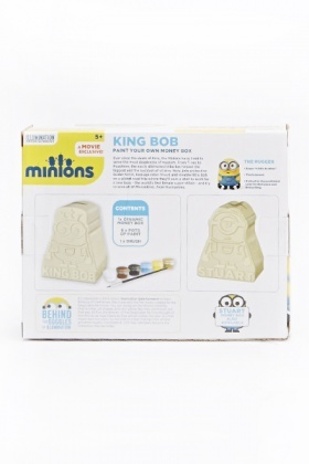 King Bob Paint Your Own Money Box