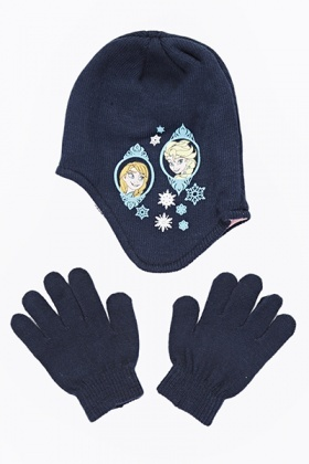 Frozen Hat And Gloves Set