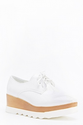 Chunky Contrast PVC Shoes