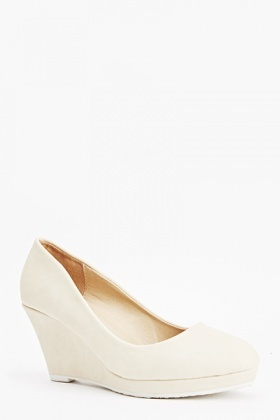 Pastel Mid Wedge Shoes