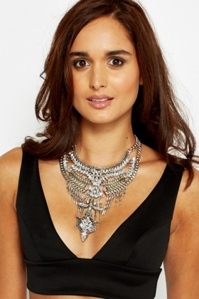 Two Tone Aztec Necklace
