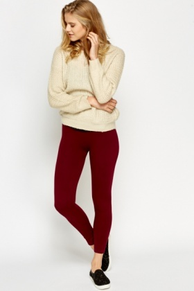 Fleece Basic Leggings