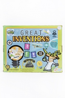 Great Inventions Science Activity Set