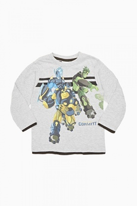 Boys Long Sleeve Gormiti Top