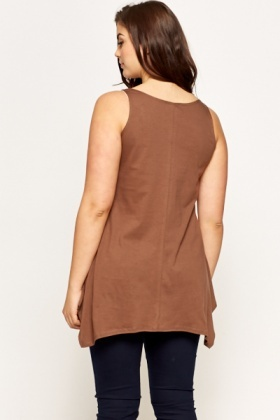 Brown Paradise Lost Tunic