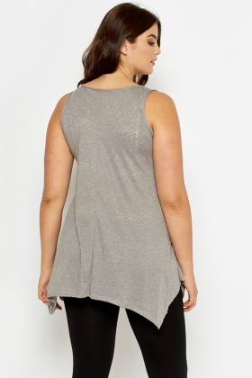 Burn Out Ash A-Line Paradise Lost Tunic