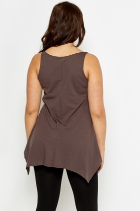 Chocolate A-Line Paradise Lost Tunic