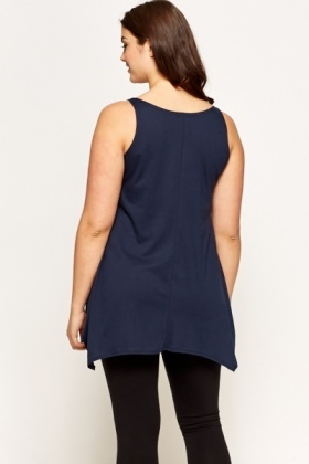 Dark Blue Paradise Lost Tunic