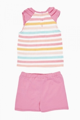 Hello Kitty Top And Shorts Set