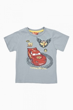 Lightning McQueen Cotton T-Shirt