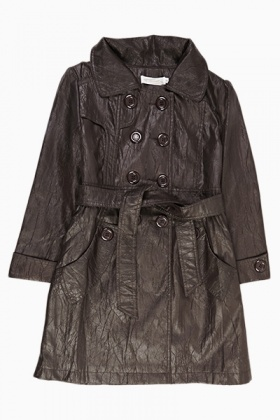 Shimmer Girls Mac Coat - Just £5