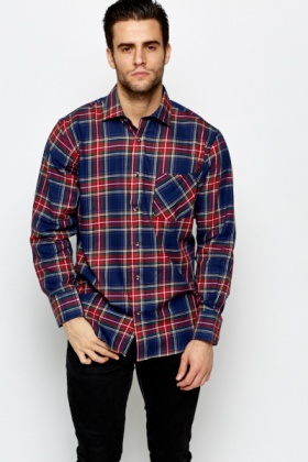 Tartan Check Cotton Shirt