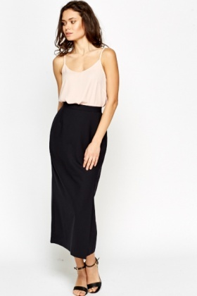 High Waist Midi Skirt - Just £5