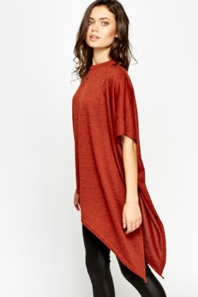 High Neck Asymmetric Top