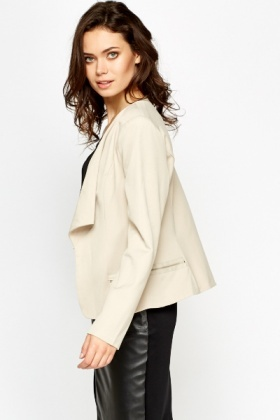 Open Waterfall Blazer