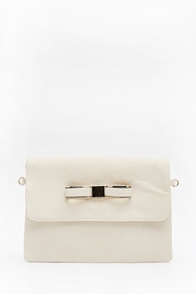 Small Bow Clutch Bag