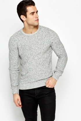 Slim Fit Speckled Jumper